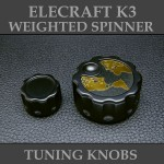 ELECRAFT K3 WEIGHTED KNOBS